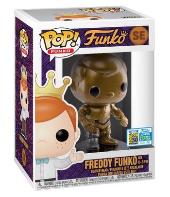 image de Freddy Funko as C-3PO