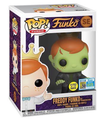 image de Freddy Funko as Frankenstein (Glow in the Dark)