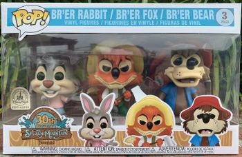 image de Brer Rabbit, Brer Fox, Brer Bear (3 Pack)