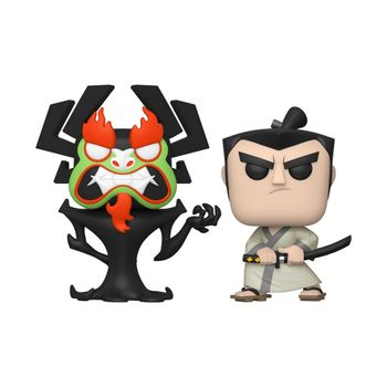 image de Aku & Samurai Jack (2-Pack) [Fall Convention]