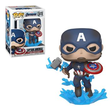 image de Captain America (with Electrified Mjolnir and Broken Shield)