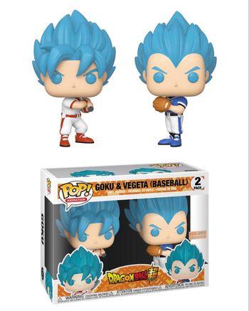 image de Goku & Vegeta (Baseball) (2-Pack)