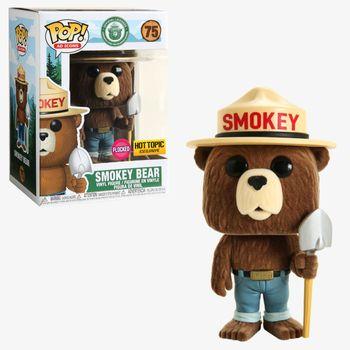 image de Smokey Bear (Flocked)
