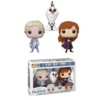 image de Elsa (Dark Sea) / Olaf / Anna (Frozen 2 3-Pack)