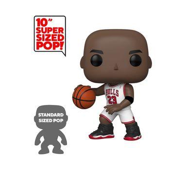 image de Michael Jordan (White Home Jersey) (10-Inch)