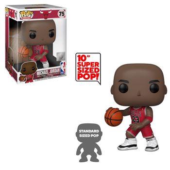 image de Michael Jordan (Red Away Jersey) (10-Inch)