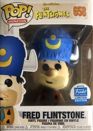 image de Fred Flintstone #658 (Water Buffalo Hat) [Funko-Shop]