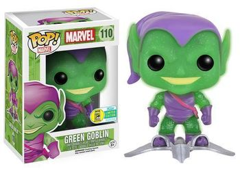 image de Green Goblin (w/ Glider) (Glow in the Dark) (Glitter) [SDCC]