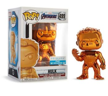 image de Hulk #499 (Orange Chrome, Bobble-Head) [Primark]