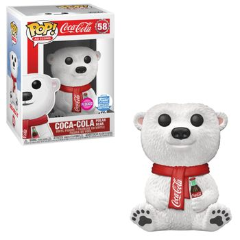 image de Coca-Cola Polar Bear (Flocked)