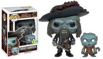 image de Cursed Barbossa (with Monkey) [SDCC]