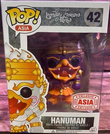 image de Hanuman (Dark Purple & Orange)