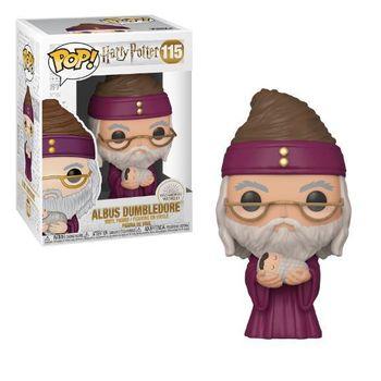 image de Dumbledore with Baby Harry