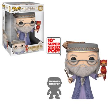 image de Albus Dumbledore with Fawkes (10-Inch)