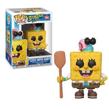 image de SpongeBob SquarePants with Gary (Spongebob Movie)
