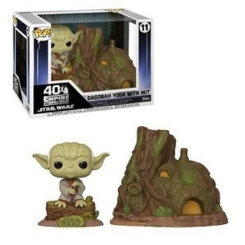 image de Dagobah Yoda with Hut