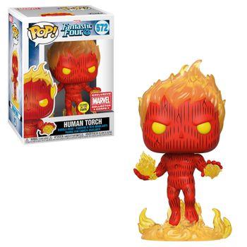 image de Human Torch (On Fire) (Glow in the Dark)