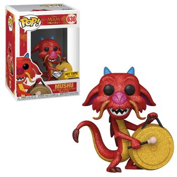 image de Mushu (with Gong) (Diamond Collection)