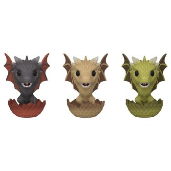 image de Drogon, Viserion, & Rhaegal (Hatching 3-Pack) [Spring Convention]