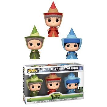 image de Fauna / Flora / Merryweather (Fairy Godmother 3-Pack) [Spring Convention]