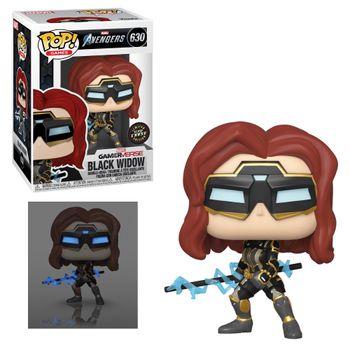 image de Black Widow (Avengers Game) (Glow in the Dark)