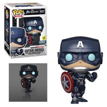 image de Captain America (Avengers Game) (Glow in the Dark)