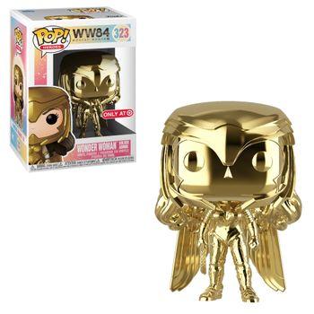 image de Wonder Woman Golden Armor (Gold Chrome)