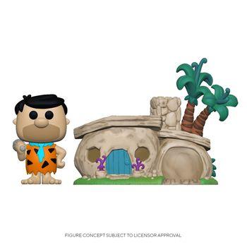 image de Fred Flintstone and Flintstone's Home