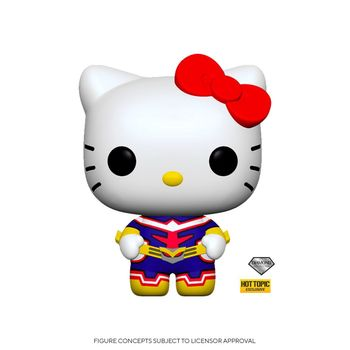 image de Hello Kitty All Might (Diamond Glitter)