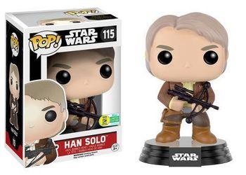 image de Han Solo (The Force Awakens) (w/ Bowcaster) [SDCC]