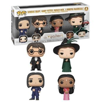 image de Severus Snape, Harry Potter, Parvati Patil & Minerva McGonagall (4-Pack)