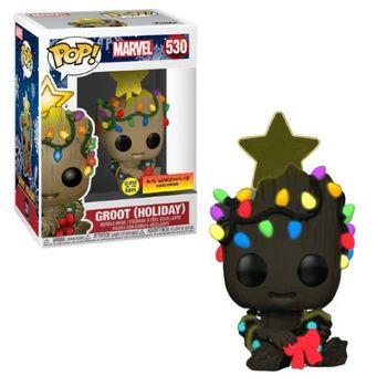 image de Groot (Holiday) (Sitting) (Glow in the Dark)