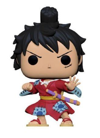 image de Luffy Gear (Kimono) (Metallic)