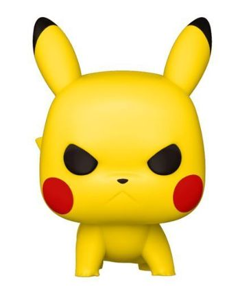 image de Pikachu (Angry) (Crouching)