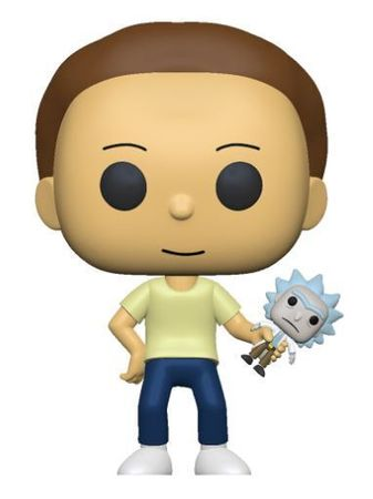 image de Morty with Shrunken Rick