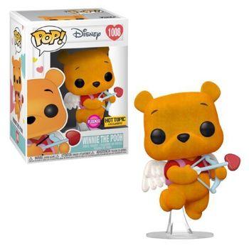 image de Winnie the Pooh (Valentine's) (Flocked)