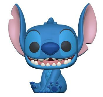 image de Smiling Seated Stitch (Flocked)