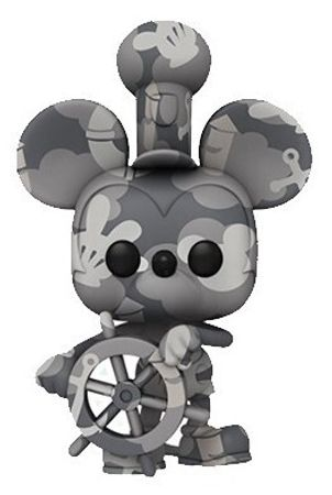 image de Steamboat Willie (With Boat Wheel) (Art Series)