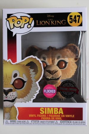 image de Simba (Live Action) (Flocked) - Special Edition