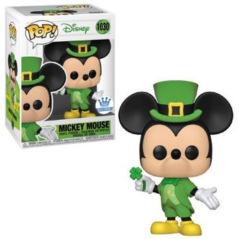 image de Mickey Mouse (St. Patrick's Day)