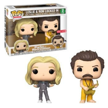 image de Leslie and Ron Locked In (2-Pack)