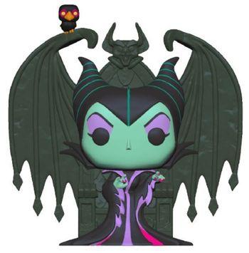 image de Maleficent on Throne (Diamond Glitter)