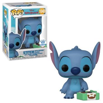 image de Stitch with Record Player