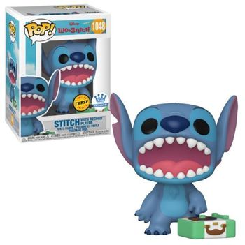 image de Stitch with Record Player (Singing)