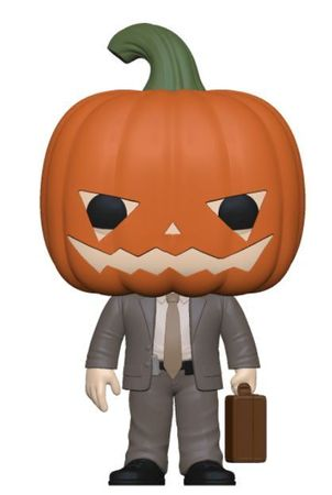 image de Dwight Schrute with Pumpkinhead