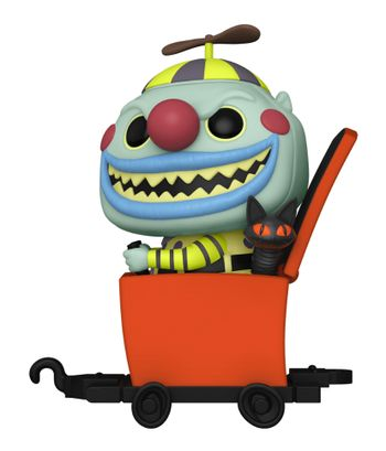 image de Clown in Jack-in-the-Box Cart