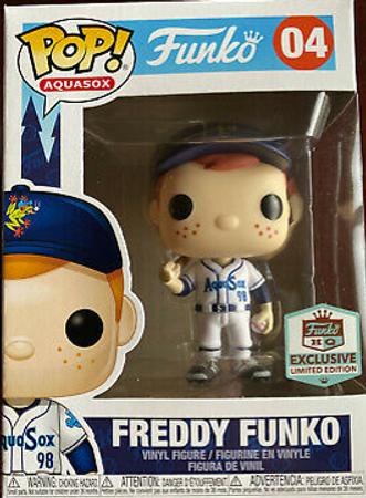 image de Freddy Funko (White Aquasox Jersey)