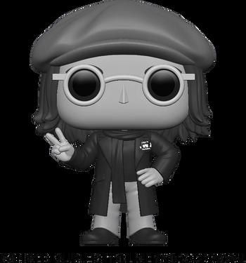 image de John Lennon (Black & White)