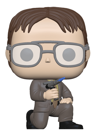 image de Dwight Schrute with Blow Torch