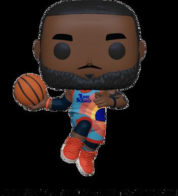 image de LeBron James (Leaping)